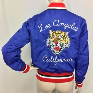 """F21 Embroidered """"Los Angeles California"""" Tiger…"""